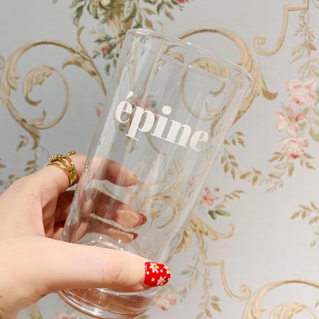 épine logo glass