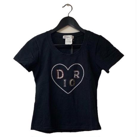 Dior heart logo design tee(No.3160)