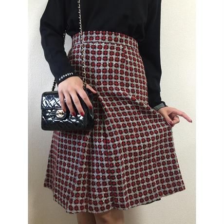 tweed design skirt