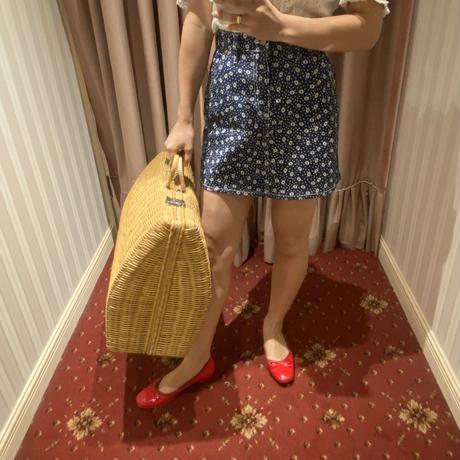 vintage big Basket bag