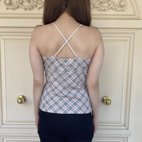Burberry back cross ribbon camisole (No.2905)