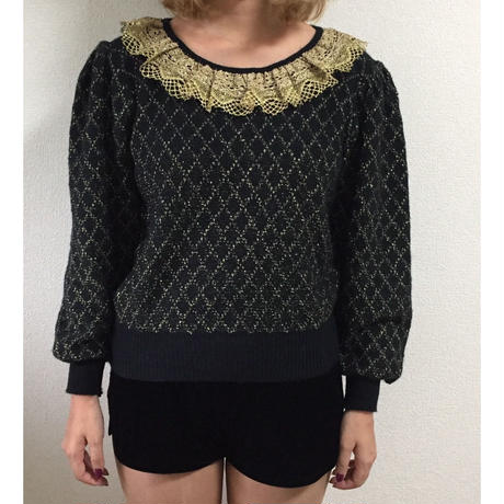 quilting lace knit