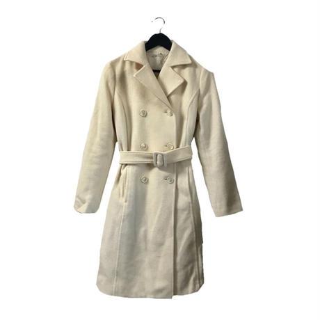 【スペシャルプライス】wool belt coat ivory