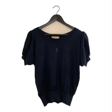 YSL puff sleeve summer knit tops(No.3603)