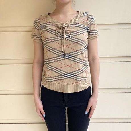 Burberry summer knit tops (No.3936)