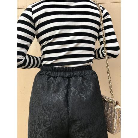 lace design pants
