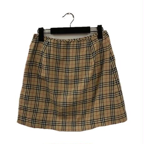 Burberry check design skirt(No.3297)