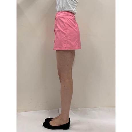 courrèges button mini skirt pink(No.2978)