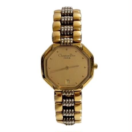 Dior rhinestone design watch