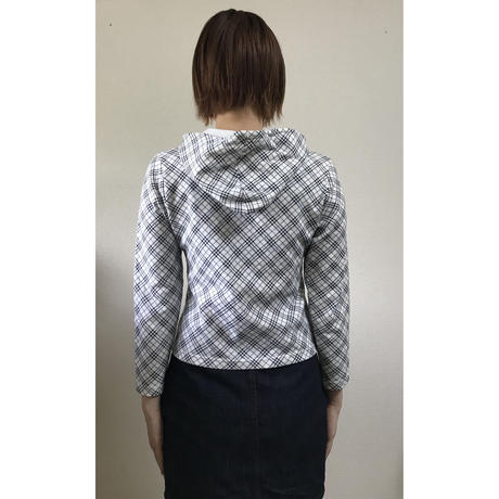 Burberry check logo sweat