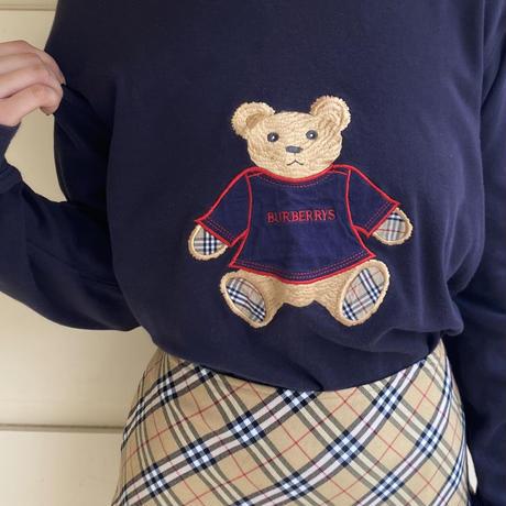 Burberry bear long tee(No.4476)
