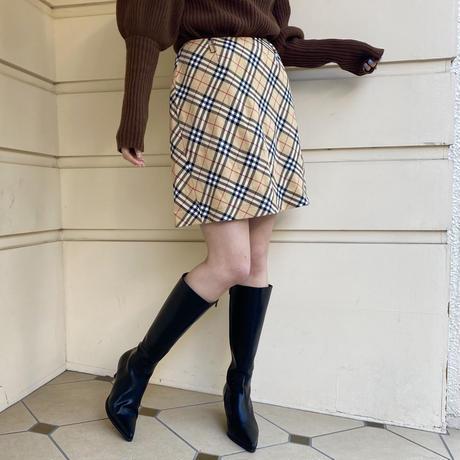 Burberry check skirt