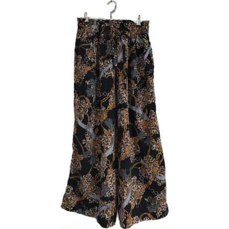 scarf design wide pants