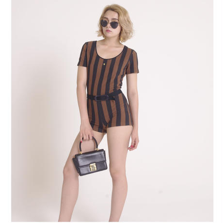 FENDI logo rompers