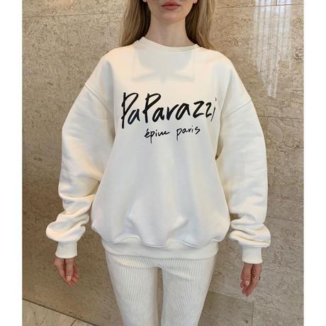 paparazzi sweat off white