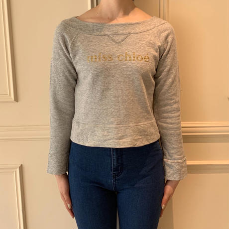 miss chloé logo sweat(No.3375)