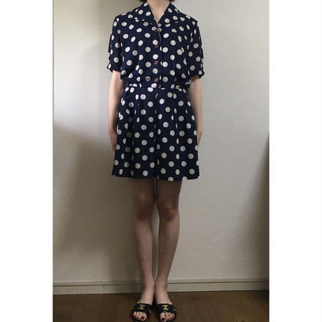 dot button design rompers