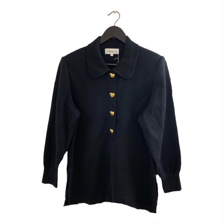 YSL heart button collar design knit tops (No. 3363)