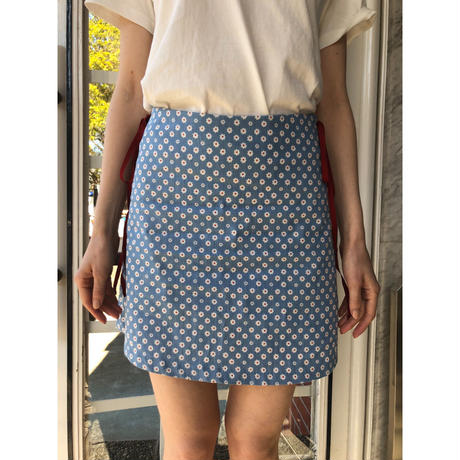 side ribbon flower skirt