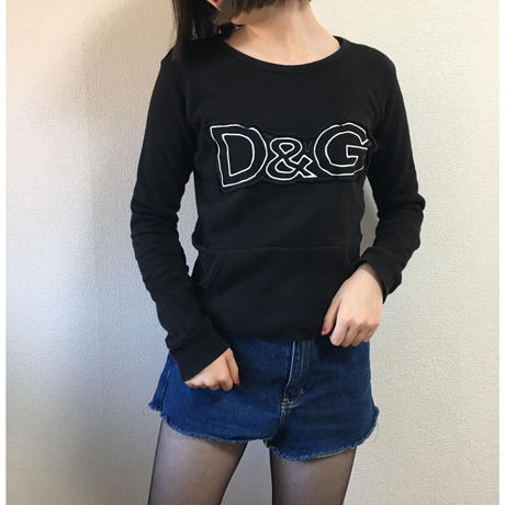 D&G logo sweat black