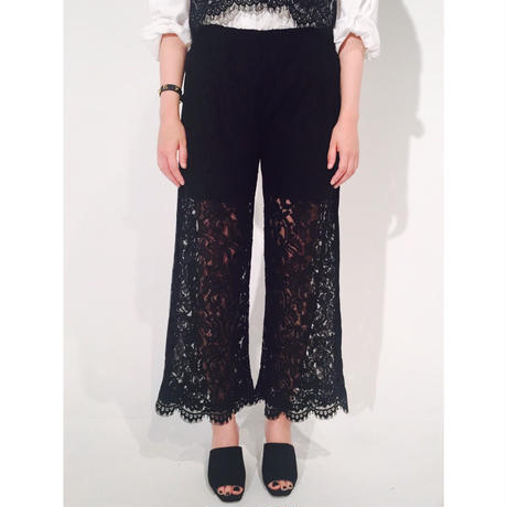 lace line pants