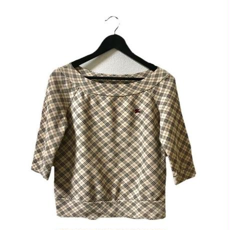 Burberry check sweat tops(No.3299)