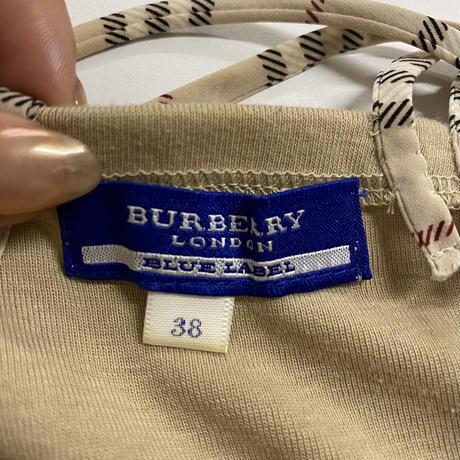 Burberry back cross camisole (No.4459)