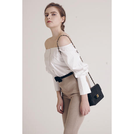 square neck 2way blouse