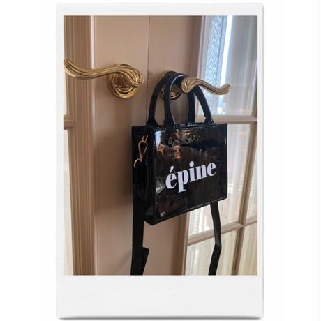 épine logo enamel 2way bag