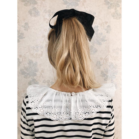 frill lace collar border tops