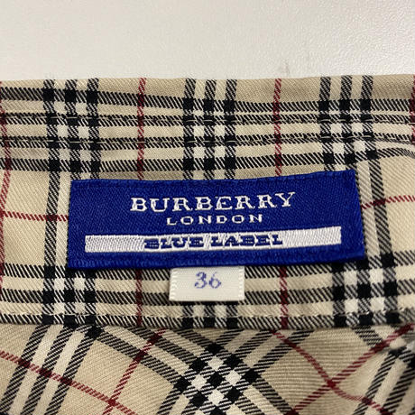 Burberry frill blouse
