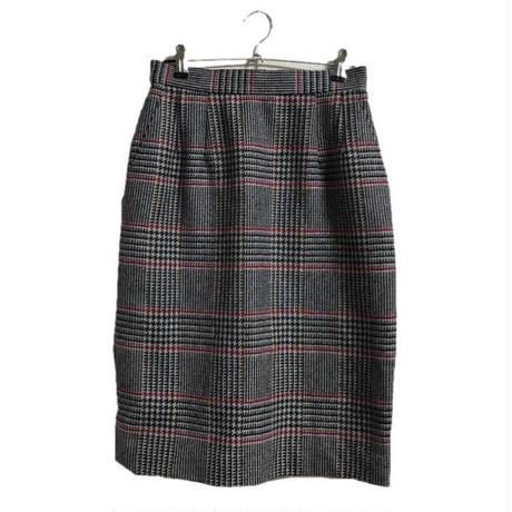 Chloé check skirt