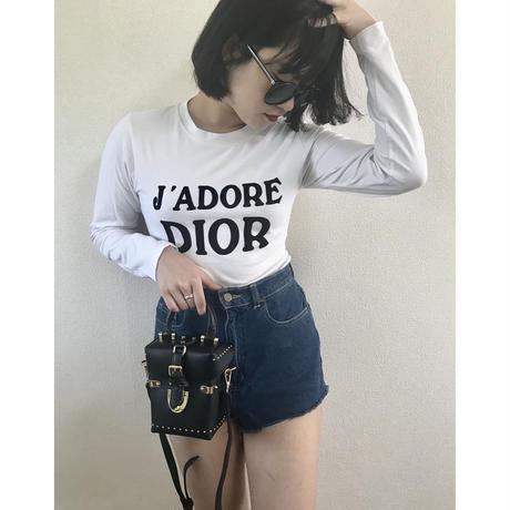 Dior logo tee