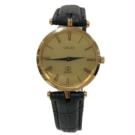 GUCCI gold design Watch(No.3265)
