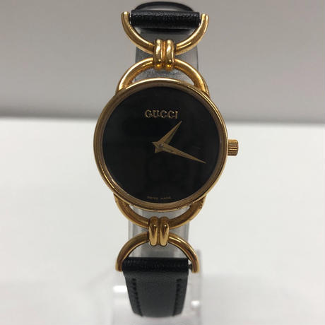 GUCCI gold motif watch(No.3331)