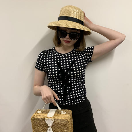 YSL dot design tee(No.2958)