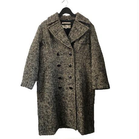 【スペシャルプライス】mix tweed wool long coat