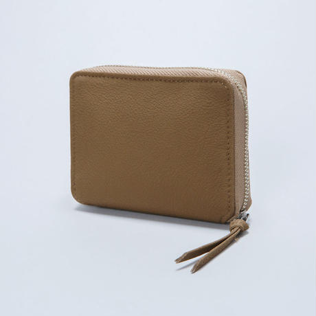 BUBBLE CALF ROUND PALM WALLET