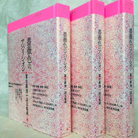 『薔薇色のアパリシオン 冨士原清一詩文集成』