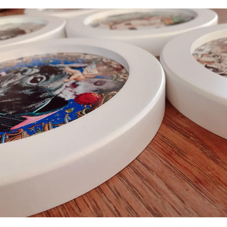 Roundcollage【フルオーダー】(ラフ確認無し・修正不可)