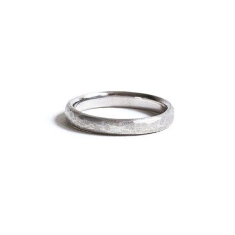Marriage Texture Ring For Women pt950 (#11, #13)