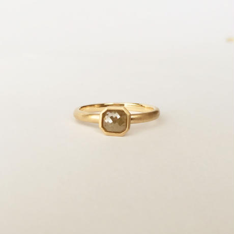 Natural Diamond Ring  (M)