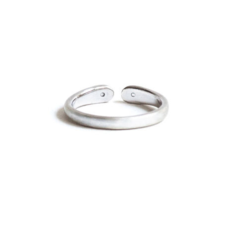 Wrap Ring 2 Diamond Ring For Women  Pt950 (#11, #13)