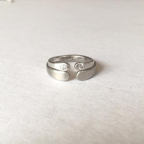 Wrap Ring For Men Pt950 (#16, #18)