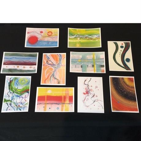 画家Shirasu作品 ポストカード10枚セット