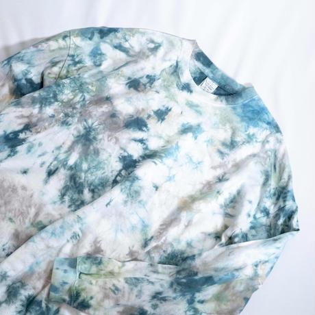 """""""TEN""""タイダイワイドシルエットロングTシャツ <001> size:  M"""