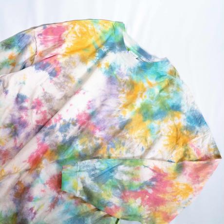 """TEN""タイダイワイドシルエットロングTシャツ <013> size:  L"