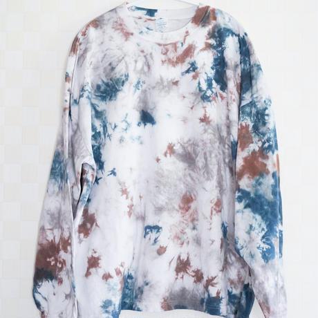 """TEN""タイダイワイドシルエットロングTシャツ <008> size:  XL"