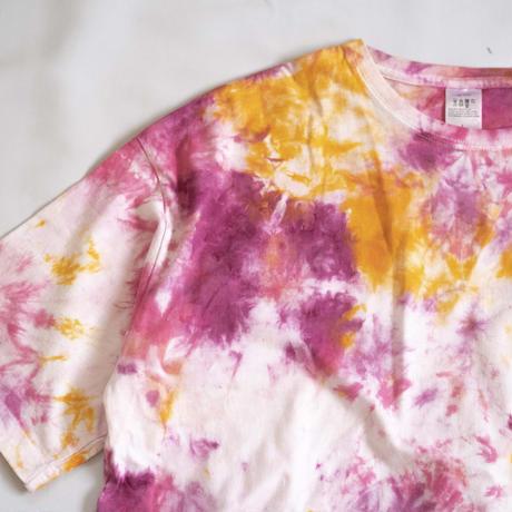 """TEN""タイダイWIDE Tシャツ <025> *ポケット付  size:  L"