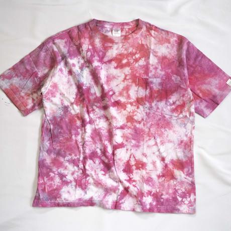 """TEN""タイダイWIDE Tシャツ <021> *ポケット付  size:  L"